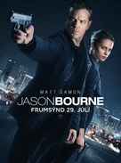 Jason Bourne - Icelandic Movie Poster (xs thumbnail)
