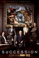 """""""Succession"""" - Argentinian Movie Poster (xs thumbnail)"""