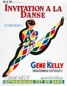 Invitation to the Dance - Belgian Movie Poster (xs thumbnail)