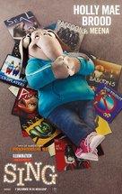 Sing - Dutch Movie Poster (xs thumbnail)