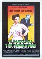 The Ghost and Mrs. Muir - Spanish Movie Poster (xs thumbnail)