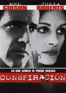 Conspiracy Theory - Spanish DVD movie cover (xs thumbnail)