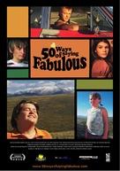 50 Ways of Saying Fabulous - New Zealand Movie Poster (xs thumbnail)