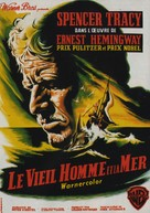 The Old Man and the Sea - French Movie Poster (xs thumbnail)