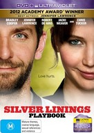 Silver Linings Playbook - Australian DVD movie cover (xs thumbnail)