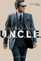 The Man from U.N.C.L.E. - Italian Movie Poster (xs thumbnail)