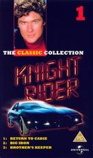 """Knight Rider"" - British VHS movie cover (xs thumbnail)"