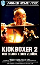 Kickboxer 2 - German VHS cover (xs thumbnail)