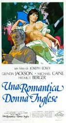The Romantic Englishwoman - Italian Movie Poster (xs thumbnail)
