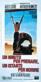 Un minuto per pregare, un instante per morire - Italian Movie Poster (xs thumbnail)