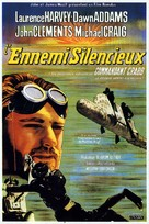 The Silent Enemy - French Movie Poster (xs thumbnail)