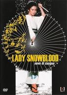 Shurayukihime - Italian DVD movie cover (xs thumbnail)
