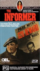 The Informer - Australian VHS cover (xs thumbnail)