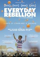 Everyday Rebellion - Italian Movie Poster (xs thumbnail)