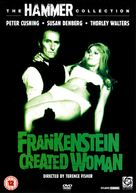 Frankenstein Created Woman - British DVD movie cover (xs thumbnail)