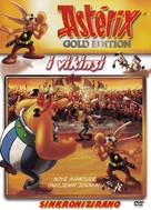 Astèrix et les Vikings - Croatian DVD cover (xs thumbnail)