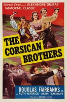 The Corsican Brothers - Movie Poster (xs thumbnail)