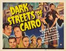 Dark Streets of Cairo - Movie Poster (xs thumbnail)