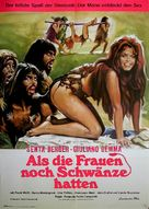 Quando le donne avevano la coda - German Movie Poster (xs thumbnail)