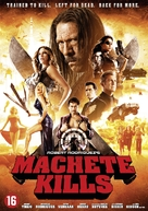 Machete Kills - Dutch DVD movie cover (xs thumbnail)