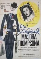 Les carnets du Major Thompson - Czech Movie Poster (xs thumbnail)