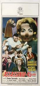 Meurtre en 45 tours - Italian Movie Poster (xs thumbnail)
