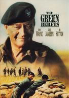 The Green Berets - DVD cover (xs thumbnail)
