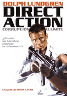 Direct Action - Spanish Movie Cover (xs thumbnail)
