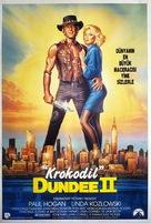 Crocodile Dundee II - Turkish Movie Poster (xs thumbnail)