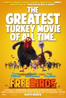 Free Birds - Movie Poster (xs thumbnail)