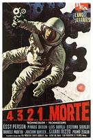 ...4 ...3 ...2 ...1 ...morte - Italian Movie Poster (xs thumbnail)