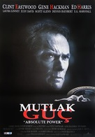 Absolute Power - Turkish Movie Poster (xs thumbnail)