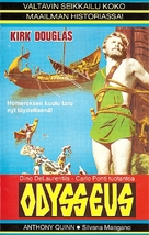 Ulisse - Finnish VHS movie cover (xs thumbnail)