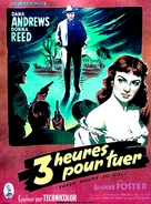 Three Hours to Kill - French Movie Poster (xs thumbnail)