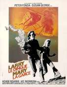 Dirty Mary Crazy Larry - French Movie Poster (xs thumbnail)