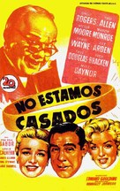 We're Not Married! - Spanish Movie Poster (xs thumbnail)