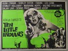 Ten Little Indians - British Movie Poster (xs thumbnail)