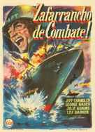 Away All Boats - Spanish Movie Poster (xs thumbnail)