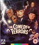 The Comedy of Terrors - British Blu-Ray cover (xs thumbnail)