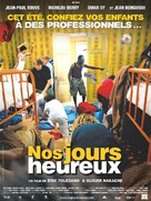 Nos jours heureux - French Movie Poster (xs thumbnail)
