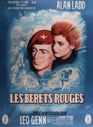 The Red Beret - French Movie Poster (xs thumbnail)