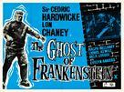 The Ghost of Frankenstein - British Movie Poster (xs thumbnail)