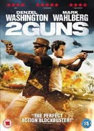 2 Guns - British DVD movie cover (xs thumbnail)