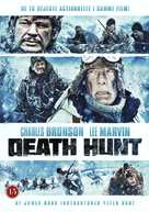 Death Hunt - Danish DVD cover (xs thumbnail)
