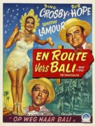 Road to Bali - Belgian Movie Poster (xs thumbnail)