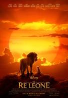 The Lion King - Italian Movie Poster (xs thumbnail)