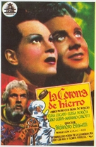 La corona di ferro - Spanish Movie Poster (xs thumbnail)