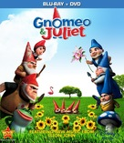 Gnomeo and Juliet - Blu-Ray movie cover (xs thumbnail)