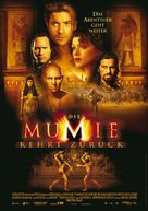 The Mummy Returns - German Movie Poster (xs thumbnail)