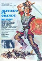 Alfred the Great - Spanish Movie Poster (xs thumbnail)
